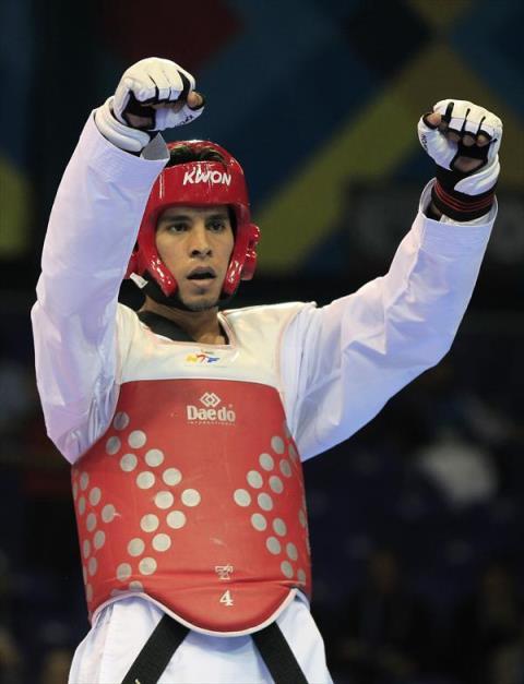 Carlos Vásquez tiene  28 años dedicándose al arte marcial