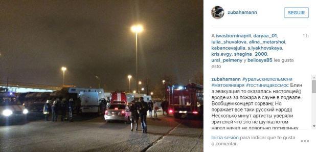 Captura Hotel en Moscu amenaza de bomba