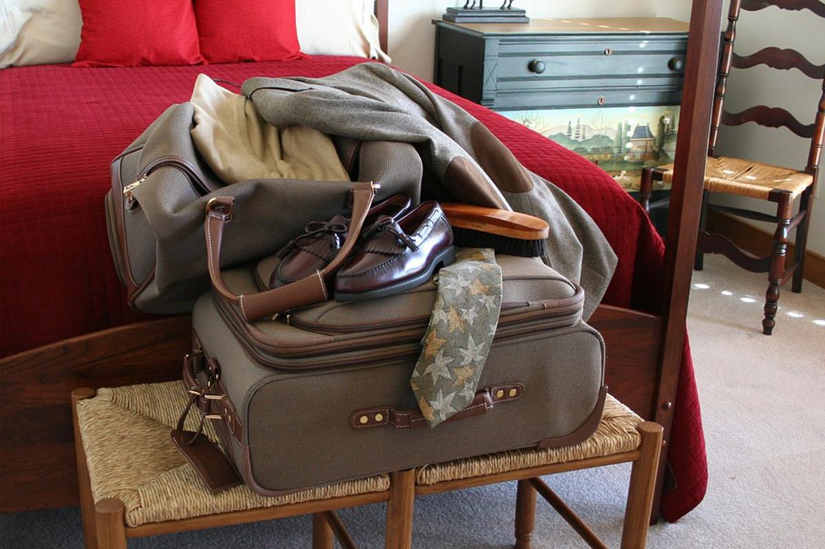 maletas de viajeros