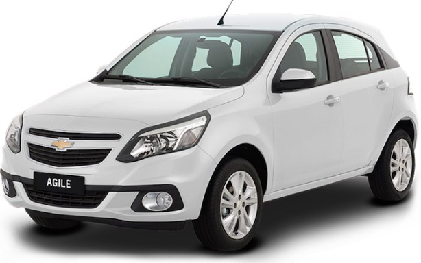 Chevrolet Agile sin airbags