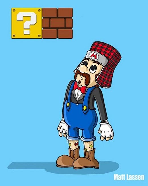 Mario-Bros.Hipster