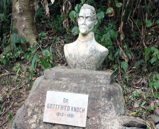 Busto de Gottfried August Knoche - Foto: Twitter