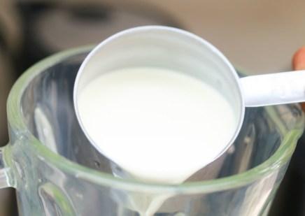 crema-de-leche-en-licuadora