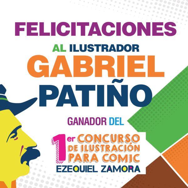 ganador concurso de comic Ezequiel Zamora