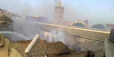 Incendie mosquée Taroudant