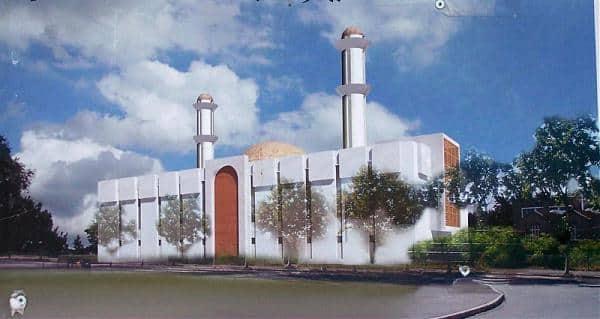 La mosquée Abdelkader de Nanterre