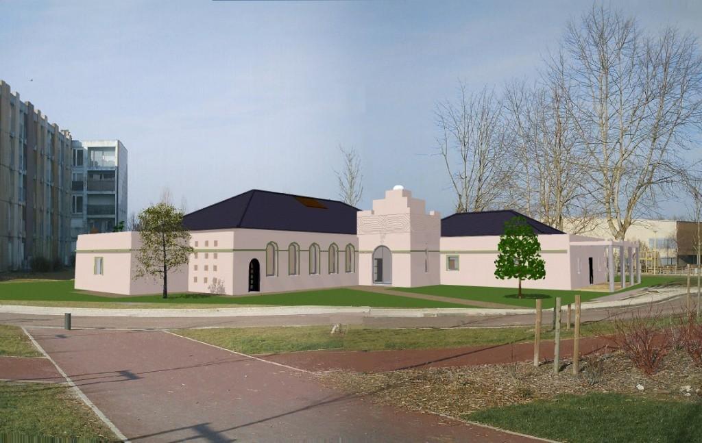 La mosquée El Fath de Saint-Florentin