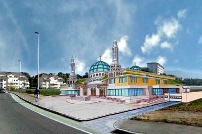 La mosquée d'Annemasse