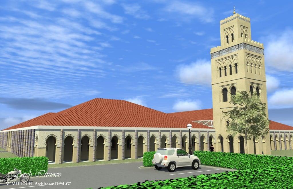 La mosquée de Beuvrages