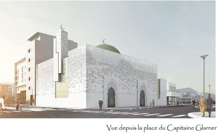La mosquée de Saint-Ouen