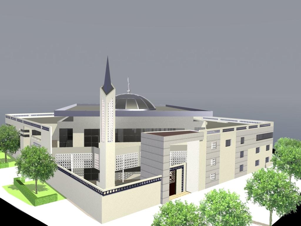 La mosquée de Toulouse le Mirail