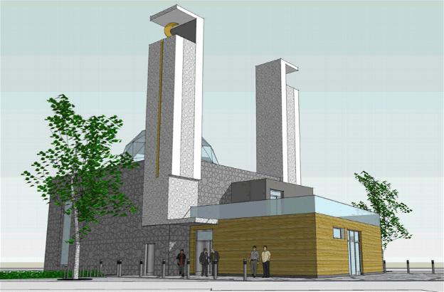 La mosquée de l'Elsau
