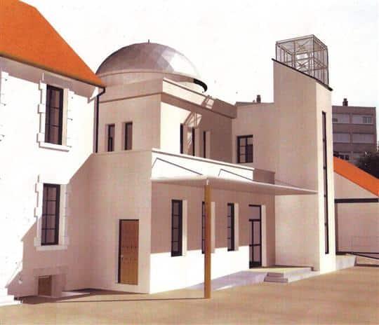 La mosquée turque d'Autun