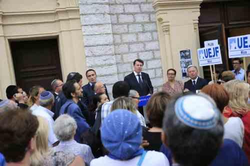 Estrosi soutien la politique terroriste de Tel Aviv