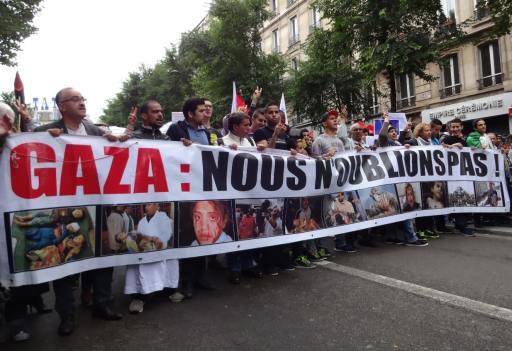 Manifestation Paris Gaza