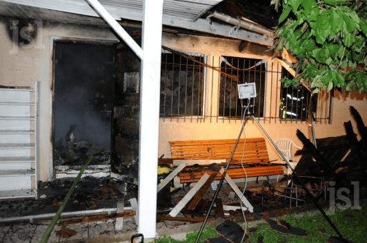 Incendie d'une mosquée à Champforgeuil