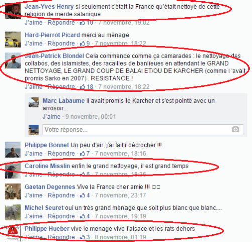 Page Facebook anti mosquée Strasbourg 18