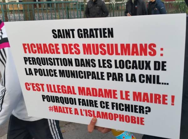 Forte mobilisation contre l'islamophobie à Saint-Gratien 2