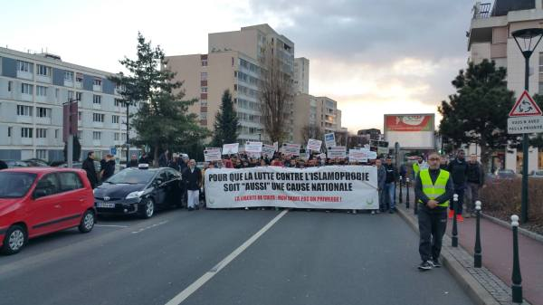 Forte mobilisation contre l'islamophobie à Saint-Gratien 8