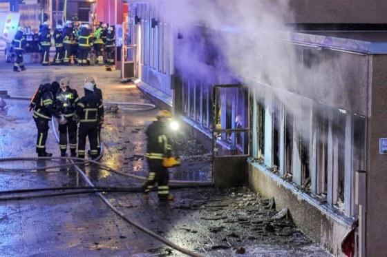 Suède  deuxième mosquée incendiée en cinq jours 2