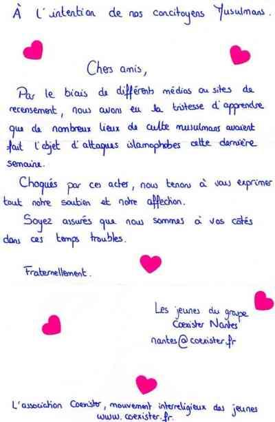 Des coeurs à la mosquée Assalam de Nantes 3