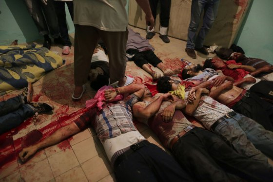 Massacre de Rabia au Caire Sissi 2