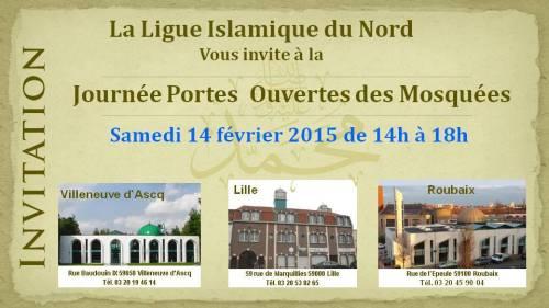Portes ouvertes dans trois mosquées du Nord