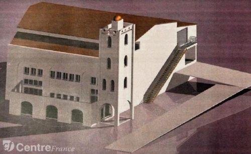 Projet de mosquée à Tulle