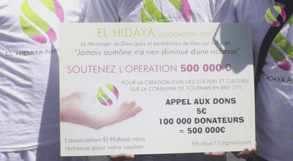 Appel aux dons pour une mosquée à Tournan-en-Brie