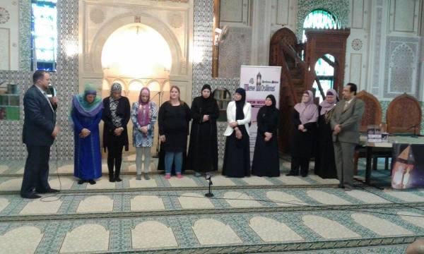 Sept femmes se reconvertissent à l'Islam au Centre Islamique et Culturel de Belgique