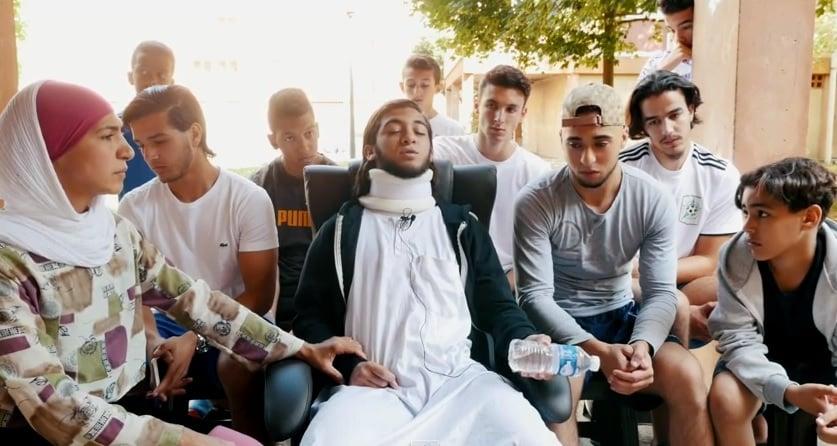 Accident de Colomiers, Rayan témoigne