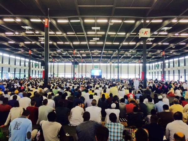 La prière de l'Aïd El Fitr à Bordeaux