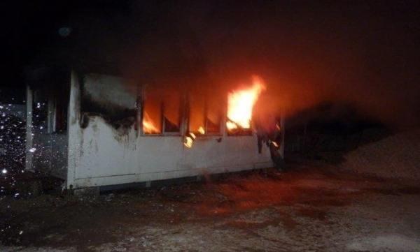 Incendie dans chantier de mosquée à Vitrolles