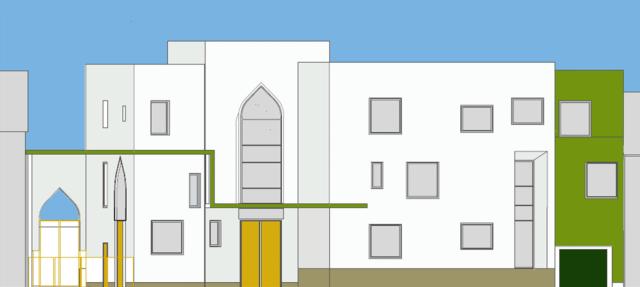 La mosquée Errahma de Villeurbanne