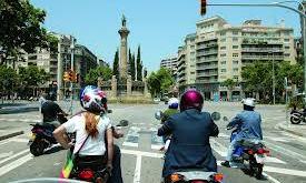 Ventajas de la motocicleta sobre el coche en una ciudad