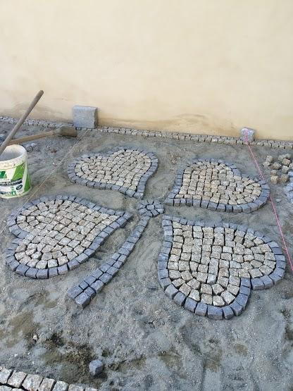 Carriere De Pave En Granit 5x10x10 Au Portugal