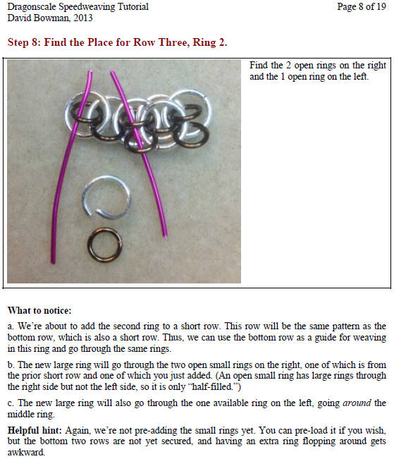 chainmaille jewelry tutorial instructions