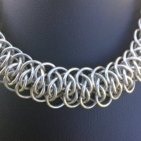 Soldered Chainmaille Close Up