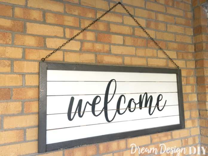 27 Easy Diy Welcome Sign Ideas In 2021