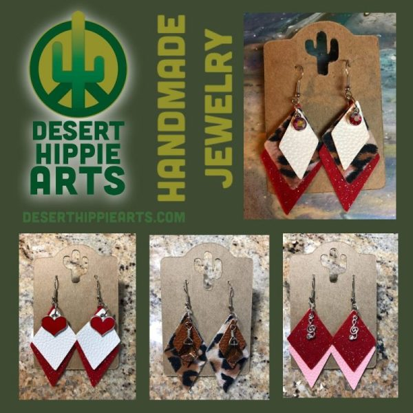 Handmade Earrings Desert Hippie Arts Handmade Jewelry