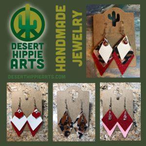 Handmade Earrings Desert Hippie Arts Handmade Jewelry