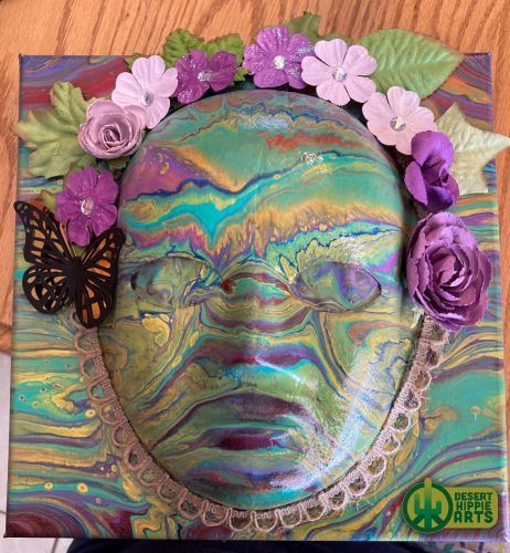3D-Acrylic-Paint-Pouring-Mask-Art-Green-Multi-1