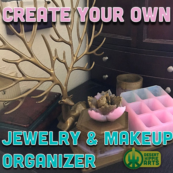Create your own RESIN JEWELRY ORGANIZER Desert Hippie Arts 1
