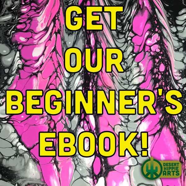 Beginner's Acrylic Paint Pouring eBOOK