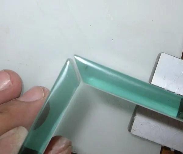 حافات الزجاج- تلميع وتحريف وتتويج و OGومرسم