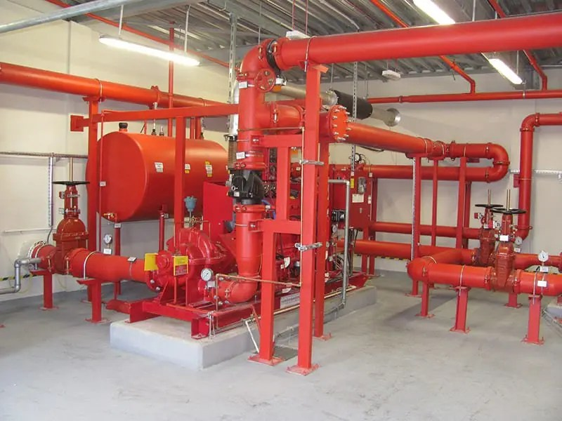 FIRE PUMP ROOM
