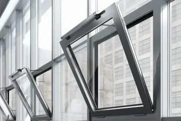 نافذة للتخلص من الدخان