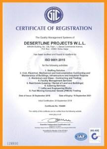 desert line group certificates