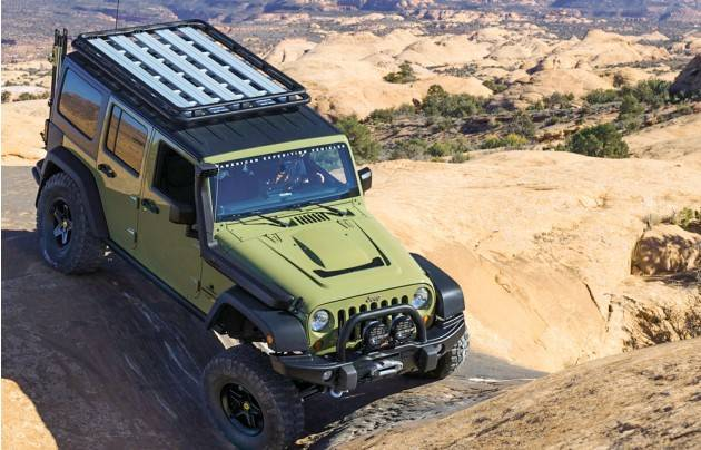 aev roof rack platform replaced by