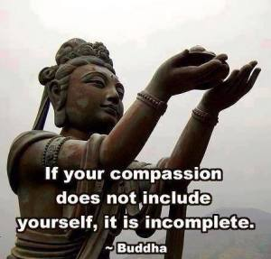 Compassion must include you]